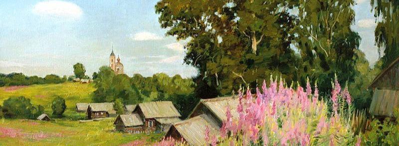 Для баньки берёзовых веток - деревня, пейзажная лирика, лирика, лето