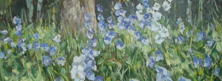 На заре в прохладе ранней - цветы, родина, лето, пейзажная лирика, лирика