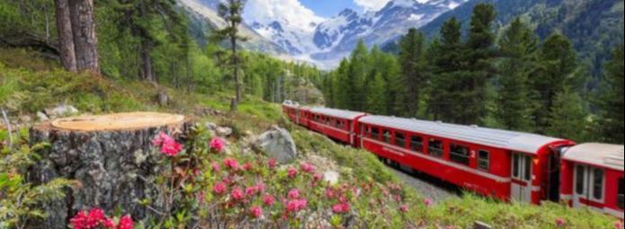 Поезд в Брюгге