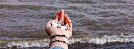 О море