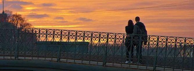 Белая ночь - белый стих, история, романтика, о любви, город