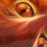 Огненная кошка