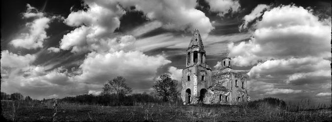 Стихотворение о заброшенной церкви - дух,история,вера,религия,лирика