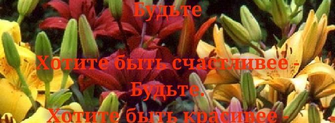 Будьте - любовь,верность,красота,счастье,будьте