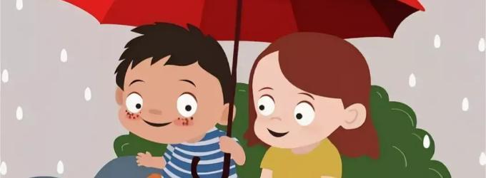 Зонт - зонт, стихи для детей, детское