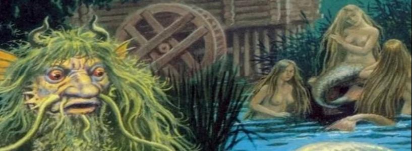 Водяной - мистика, водяной, сказка
