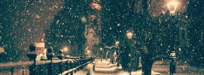 Снегопад - философская лирика