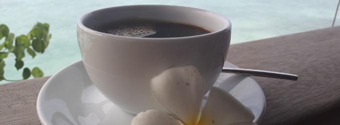 Кофе с лазурью