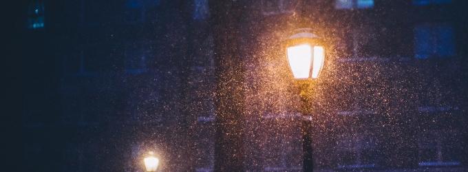 Декабрь. Полночь.