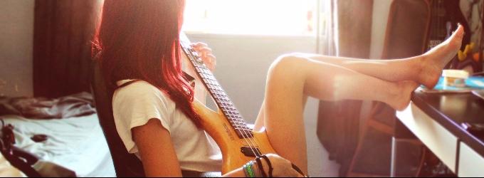Пола играет рок