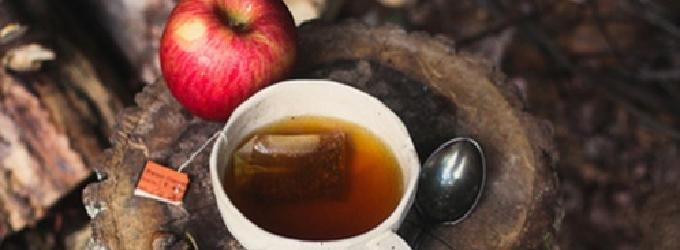 Чай - костёр,сентябрь,осень,чай