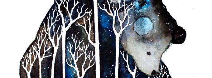 Мишутка - сон,холод,зима,лес