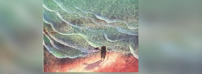 Ежонок море рисовал - ёжик,басня