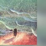 Ежонок море рисовал