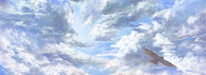 В перьевом отделе чудных небес - перьевойотдел, душа, небеса, чудо, вселенная