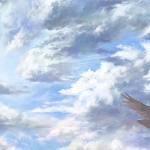 В перьевом отделе чудных небес