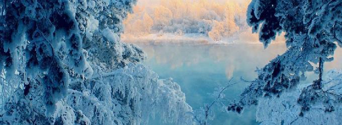 Зимнее утро - природа,Сказка