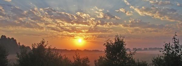 Утро в дымке голубой от 7. 06. 2013