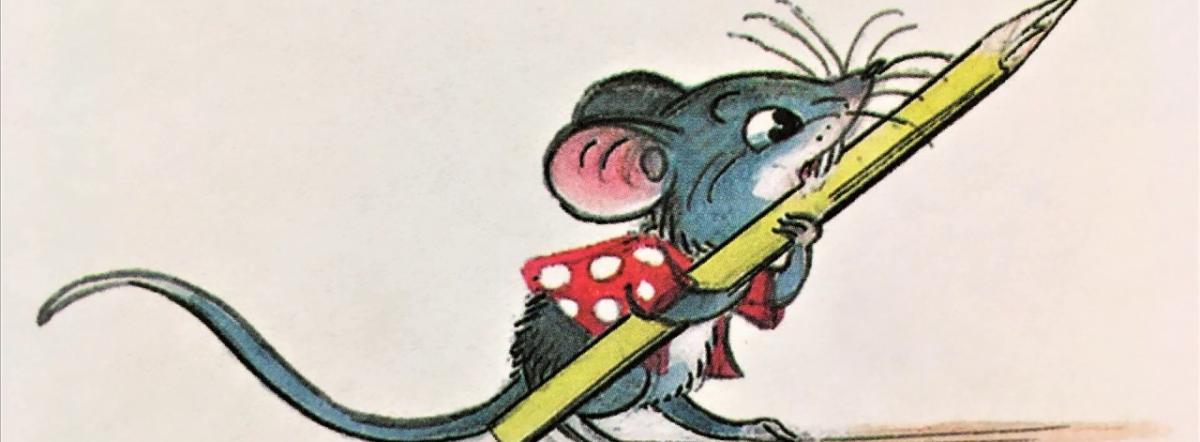 Мышонок и карандаш - сутеев владимир григорьевич, сказка