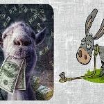 Басня про козла и капусту
