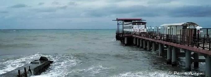 А море терпит