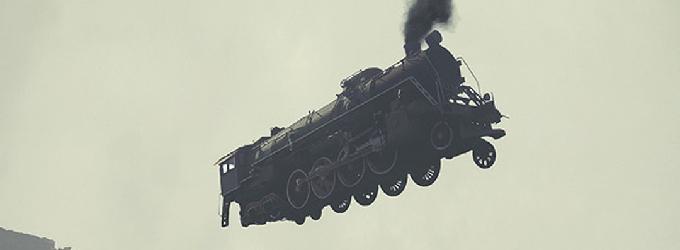 Поезд и ветер